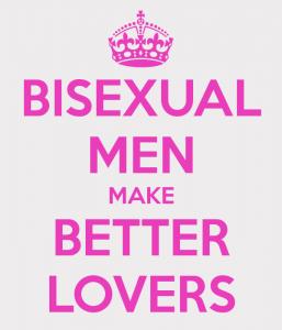 Bi Men Over Straight?